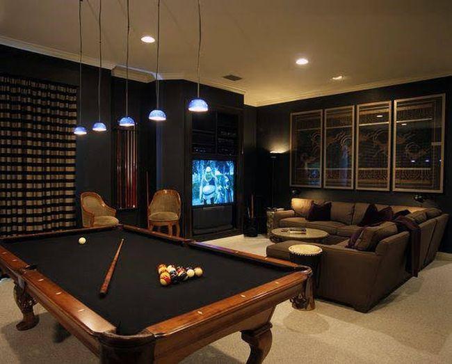 sala para jogos